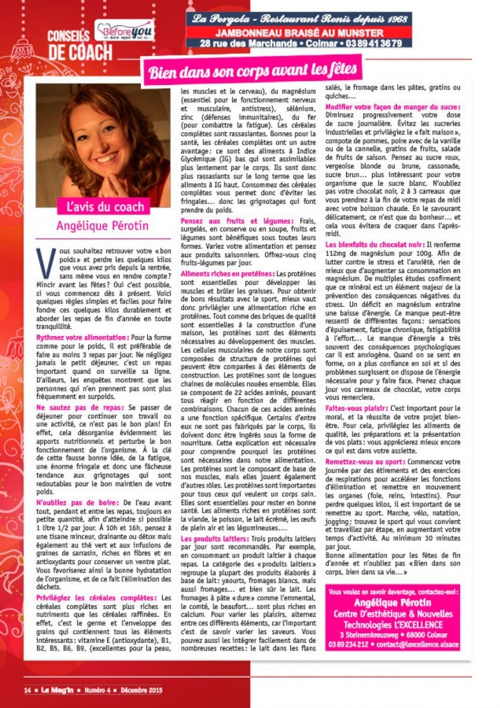 Le Mag'In - Decembre 2015